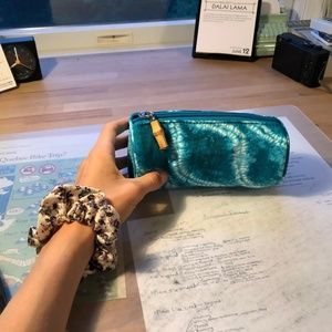 Teal Blue Make-up Pouch